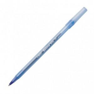 Pix fara mecanism Bic Round Stic, 1.0 mm, albastru