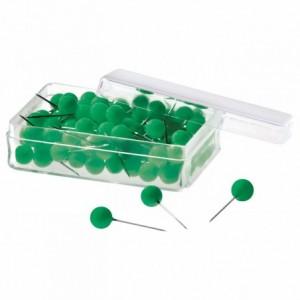 Ace cu gamalie 100 buc/cutie, verde, MAGNETOPLAN - ACOMI.ro