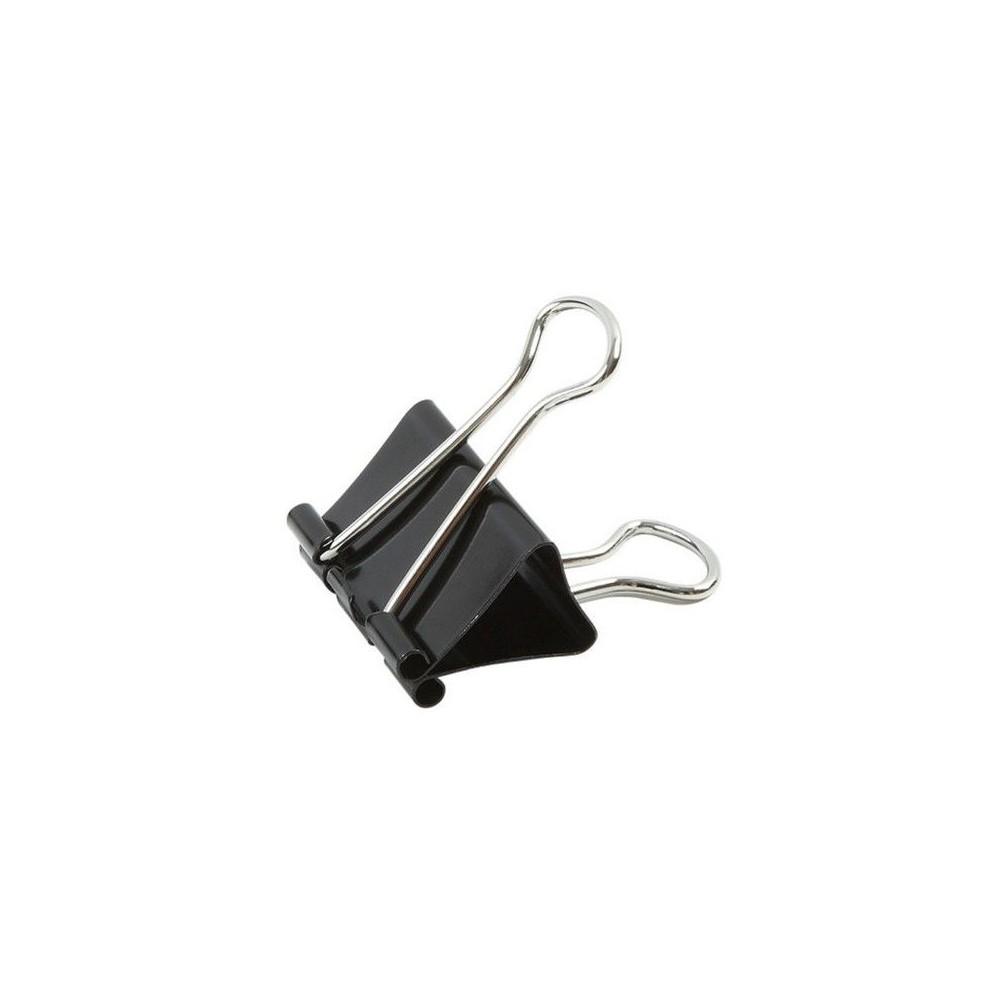 Clips 32 mm, 12buc/cutie, ACM BRAND - negru
