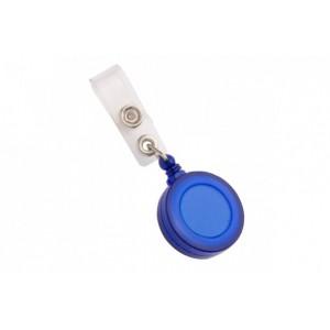Clips cu fir retractabil albastru, FORPUS - ACOMI.ro