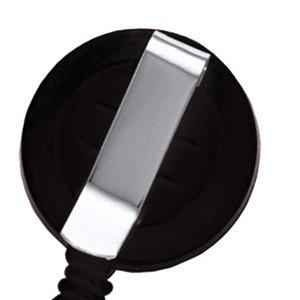 Snur retractabil cu clip pentru ecuson, plastic, negru, ACM BRAND - ACOMI.ro