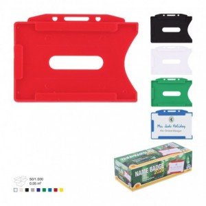 Ecuson plastic rigid, 50 buc/set, ARK - ACOMI.ro