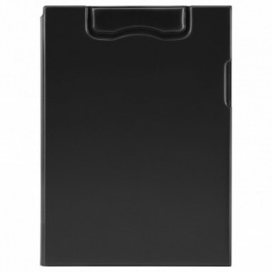 Clipboard magnetic dublu, negru, MAGNETOPLAN - ACOMI.ro