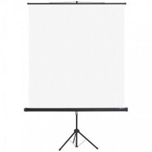 Ecran de proiectie manual, 150x150cm, pe trepied, Memoboards - ACOMI.ro