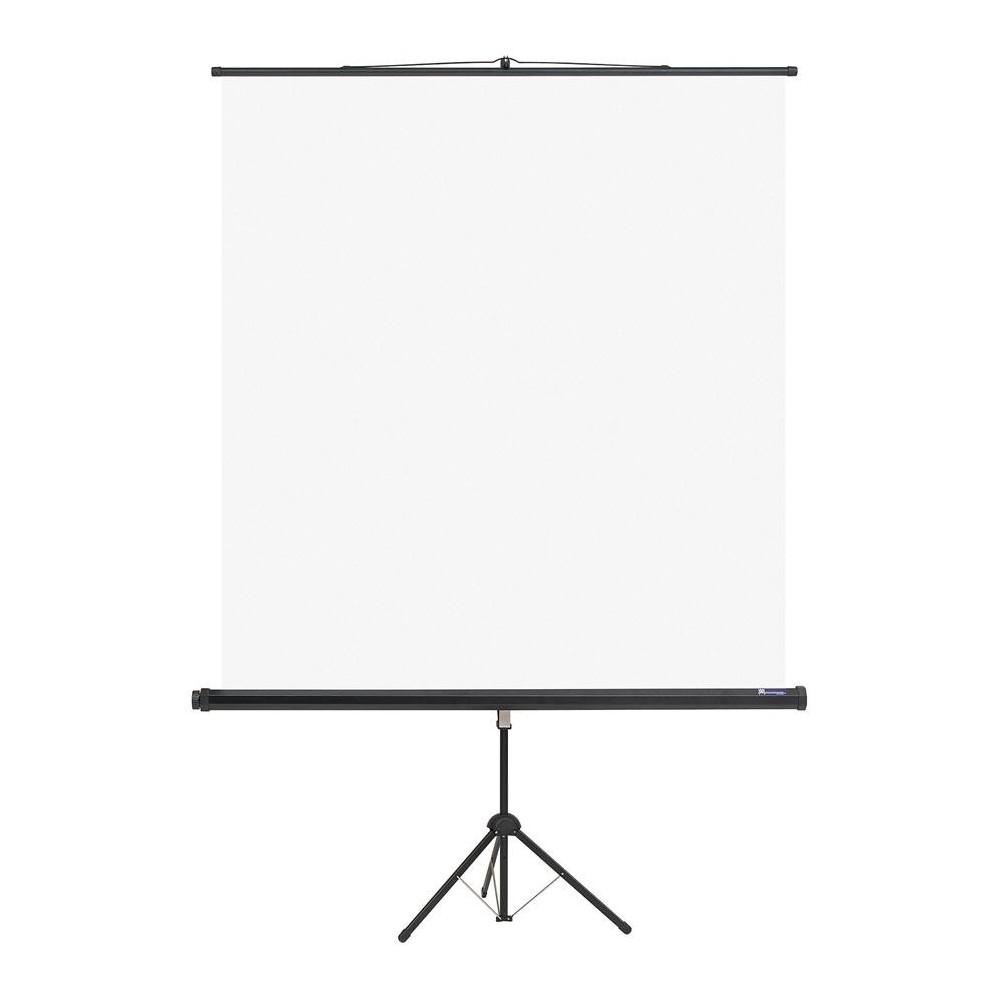 Ecran de proiectie manual, 200x200cm, pe trepied, Memoboards - ACOMI.ro