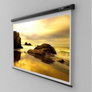 Ecran de proiectie de perete Sopar SLIM 155x155 - ACOMI.ro