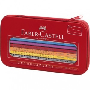 Set cadou desen si pictura, Colour Grip Faber-Castell - ACOMI.ro