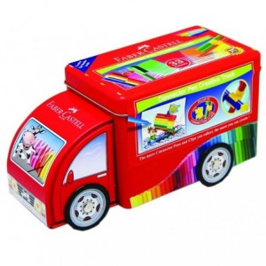 Carioca 33 culori/set Camion Connector Faber-Castell - ACOMI.ro