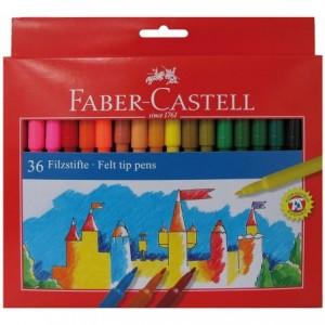 Carioci 36 culori/set, Clasic Faber-Castell - ACOMI.ro