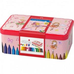 Carioca 33 culori/set Ballerina Box Connector Faber-Castell - ACOMI.ro