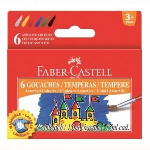 Guase 12 culori, 15 ml, Faber-Castell - ACOMI.ro