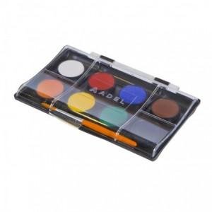 Acuarele cu pensula 8 culori/set, Adel - ACOMI.ro
