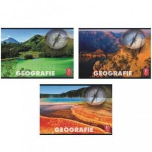Caiet Geografie 24 file, Color Pigna - ACOMI.ro
