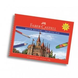 Bloc Desen A4 15 file, 120 g/mp, Faber-Castell Faber-Castell - ACOMI.ro