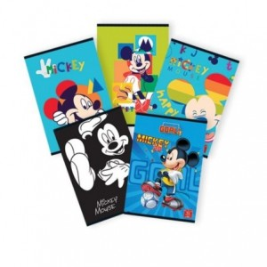 Caiet A4 60 file, dictando, licenta Mickey Mouse Pigna - ACOMI.ro