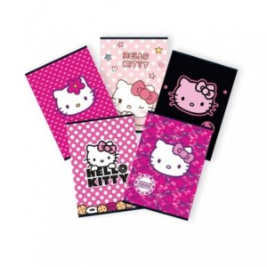 Caiet A5 48 file, dictando, licenta Hello Kitty Pigna - ACOMI.ro