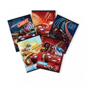 Caiet A5 80 file, matematica, licenta Cars Pigna - ACOMI.ro