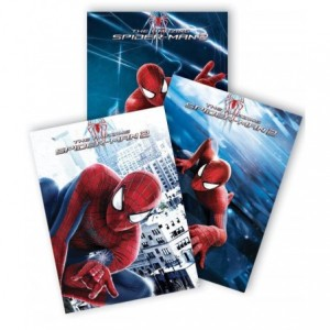 Caiet A5 80 file, matematica, licenta Spiderman Pigna - ACOMI.ro