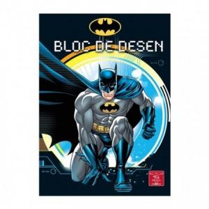 Bloc Desen A4 16 file, 160g, Premium Batman Pigna - ACOMI.ro