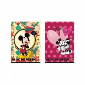 Bloc Desen A4 16 file, 160g, Premium Mickey Pigna - ACOMI.ro