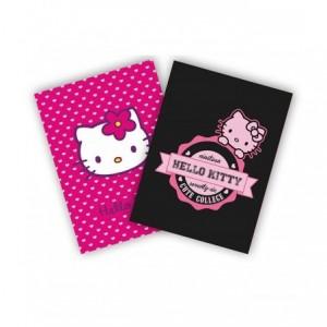 Coperti caiet A4, policromie 3 buc/set, Hello Kitty Pigna - ACOMI.ro