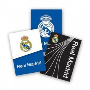 Coperti caiet A5, policromie 3 buc/set, Real Madrid Pigna - ACOMI.ro