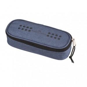 Penar cu elastic, albastru melange, Grip Faber-Castell - ACOMI.ro