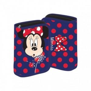 Penar neechipat cu fermoar, albastru, Minnie Mouse Pigna - ACOMI.ro