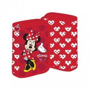 Penar neechipat cu fermoar, rosu, Minnie Mouse Pigna - ACOMI.ro