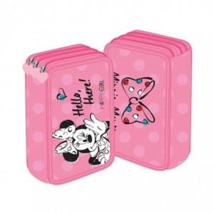 Penar neechipat 3 fermoare, roz, Minnie Mouse Pigna - ACOMI.ro