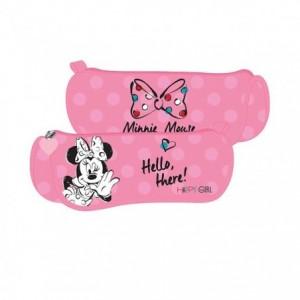 Penar tip Etui triunghiular, roz, Minnie Mouse Pigna - ACOMI.ro