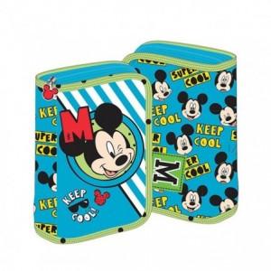 Penar neechipat cu fermoar, bleu, Mikey Mouse Pigna - ACOMI.ro