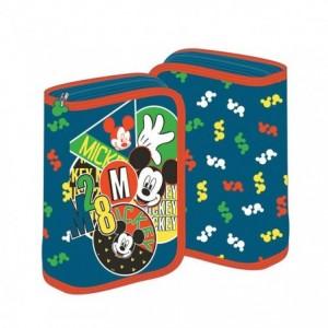 Penar neechipat cu fermoar, gri, Mickey Mouse Pigna - ACOMI.ro