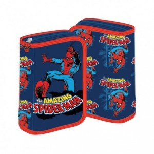 Penar neechipat cu fermoar, albastru, Spiderman Pigna - ACOMI.ro