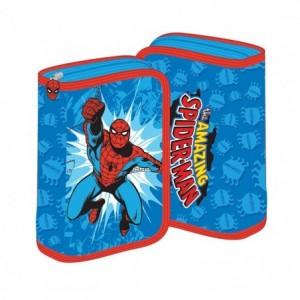 Penar neechipat cu fermoar, bleu, Spiderman Pigna - ACOMI.ro