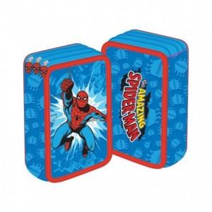 Penar neechipat 3 fermoare, bleu, Spiderman Pigna - ACOMI.ro