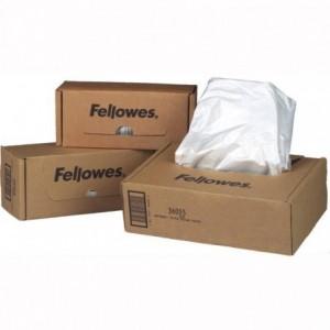Saci distrugatoare documente, 23-28 l, Fellowes - ACOMI.ro