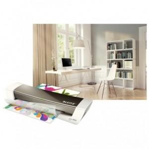 Laminator A4, gri metalizat, LEITZ iLAM Home Office - ACOMI.ro