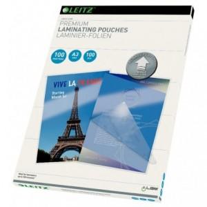 Folie de laminare A3, 175 microni, 100 buc/top, UDT iLam Leitz - ACOMI.ro