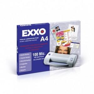 Folie laminare A4, 100 microni, 100 buc/top, EXXO - ACOMI.ro