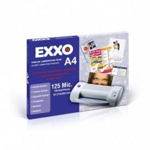 Folie laminare A4, 125 microni, 100 buc/top, EXXO - ACOMI.ro