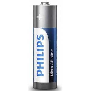 Baterie ULTRA ALKALINE AA, 4 BUC, PHILIPS - ACOMI.ro