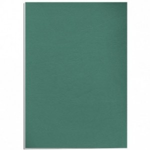 Coperti carton A4 verde inchis Fellowes