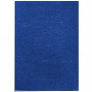 Coperti carton A4 albastru inchis Fellowes
