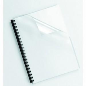 Coperti plastic A4 fumuriu Fellowes