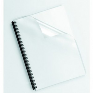 Coperti plastic A4 galbene Fellowes