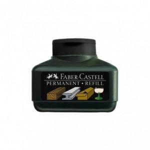 Permanent marker Refill, Faber Castell - negru