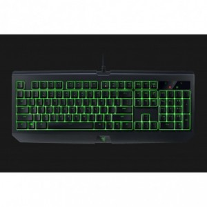 Tastatura gaming Razer BlackWidow (Green Switch) US Layout, cu fir, negru - ACOMI.ro