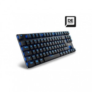 Tastatura gaming Sharkoon Pure Writer TKL, cu fir, Usb - ACOMI.ro