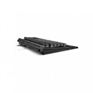 Tastatura gaming Sharkoon Shark Skiller Mech SGK1, cu fir, albastru  - ACOMI.ro